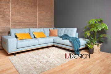 S129 lida γωνιακός καναπές